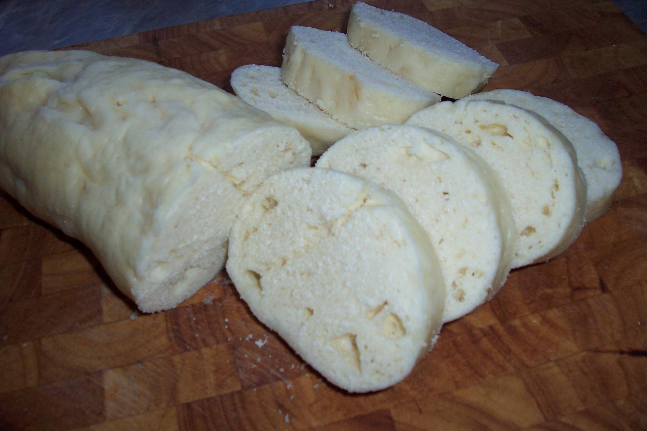 Fotografie receptu: Kynuté houskové knedlíky