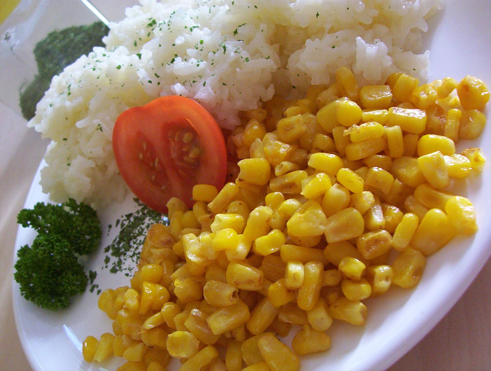Jasmínová rýže s kukuřicí