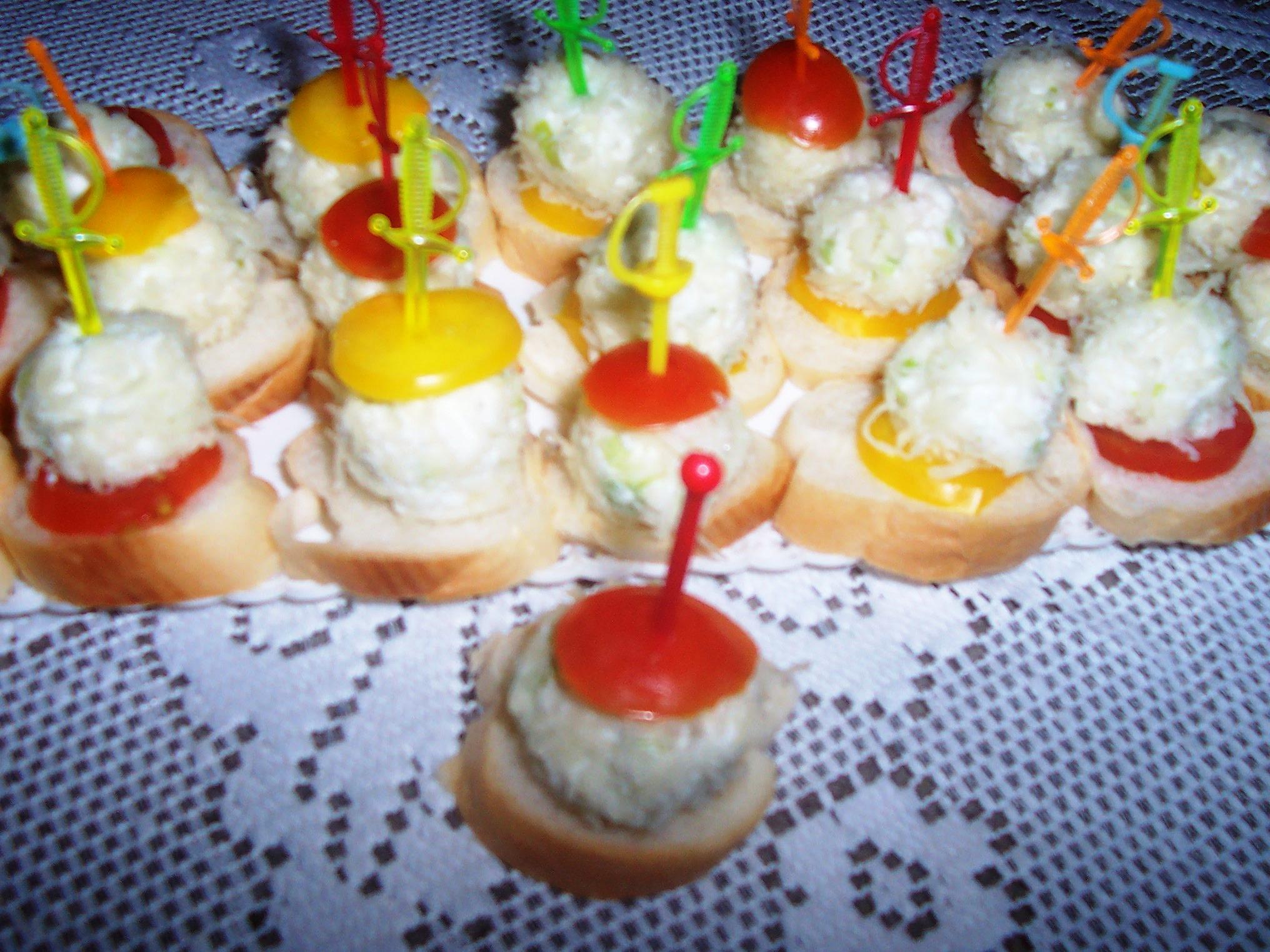Pikantní sýrové kuličky