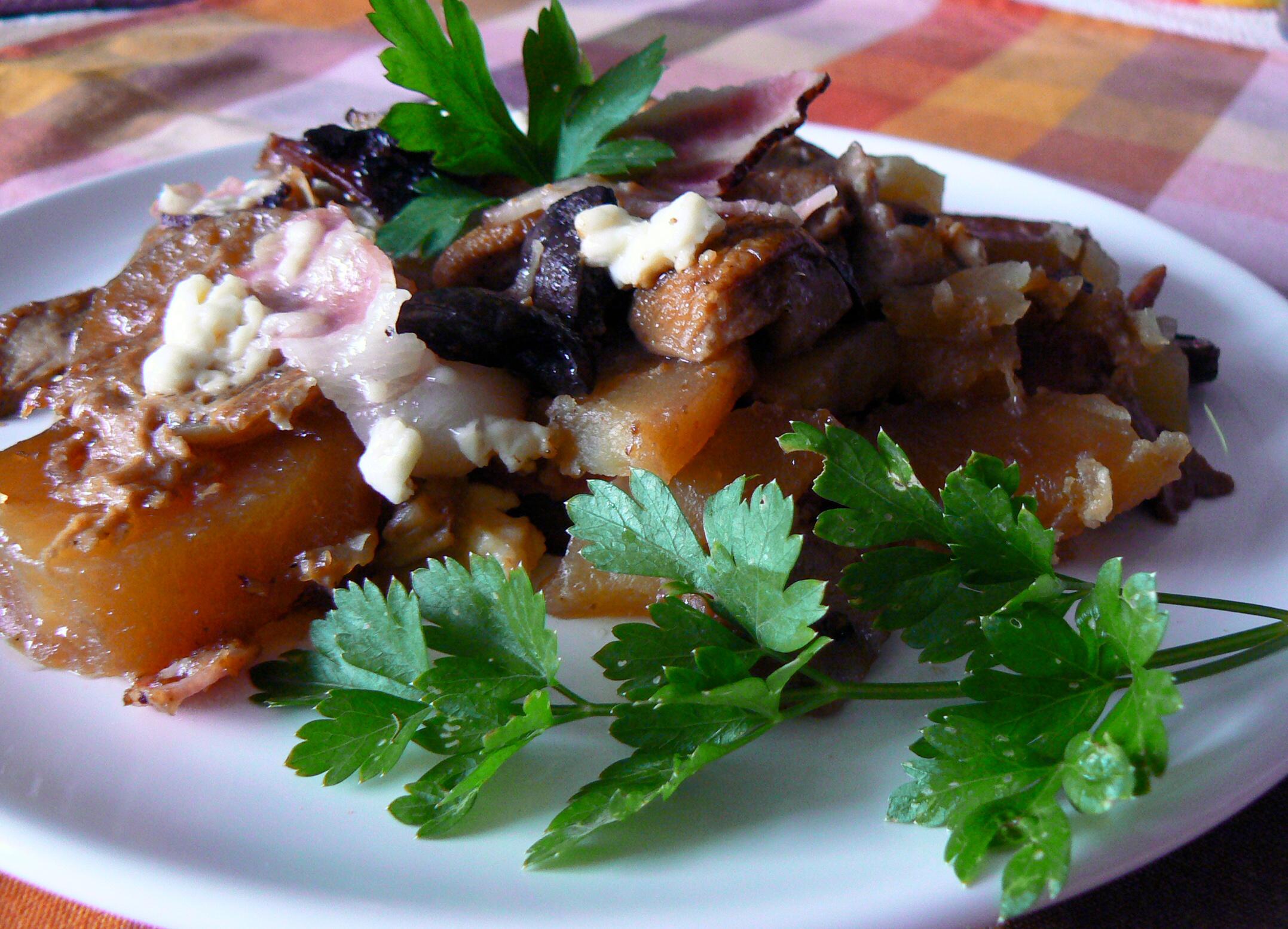 Houbové brambory