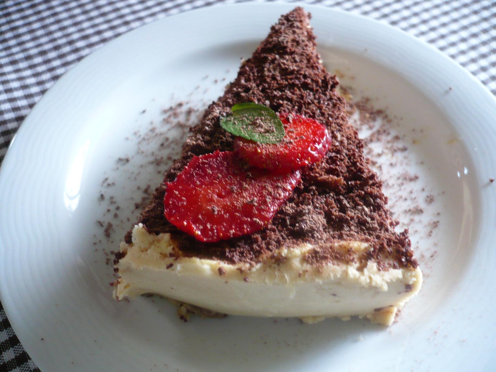 Tiramisu dort s jahodami
