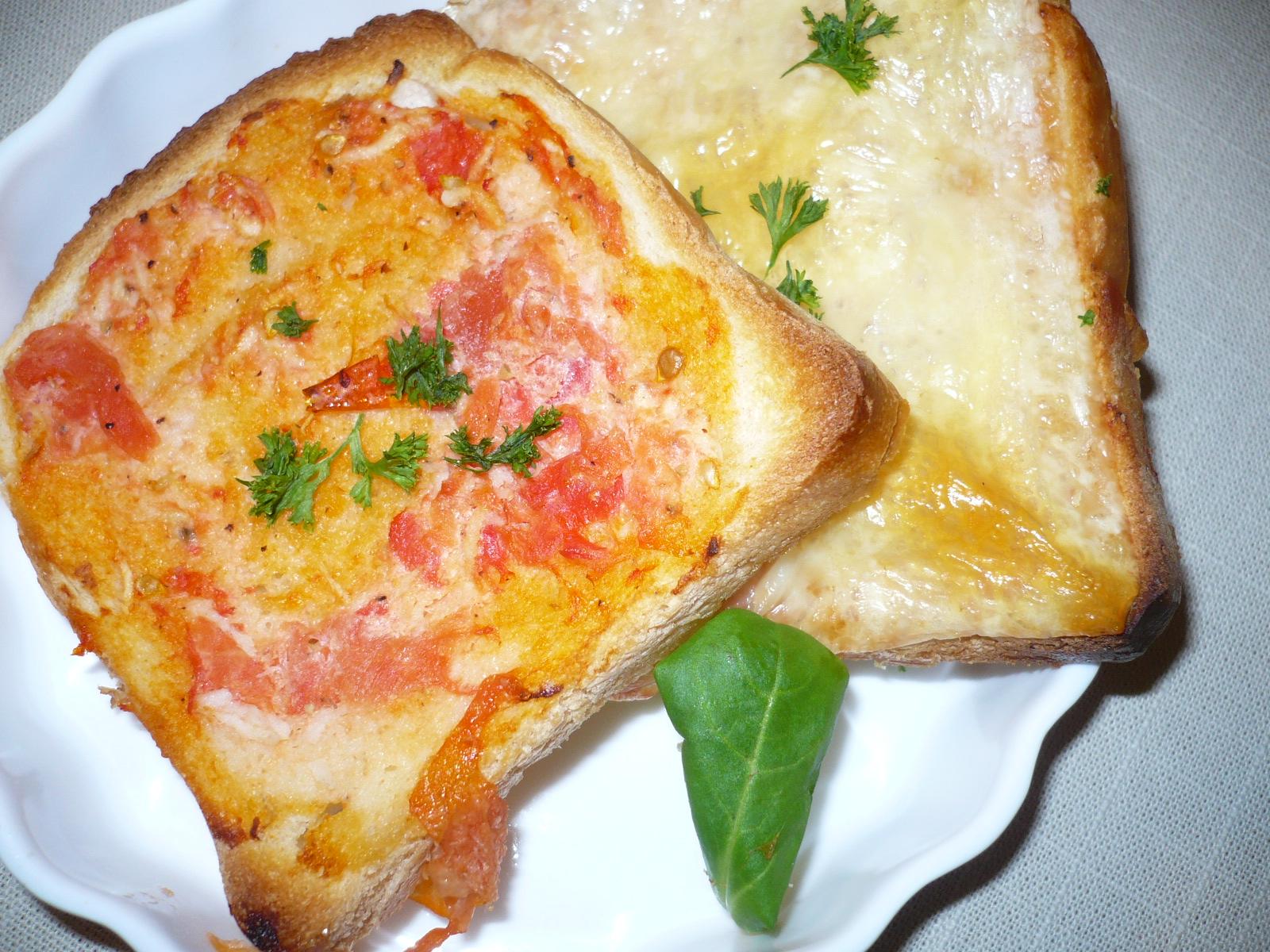 Toasty  s rajčaty