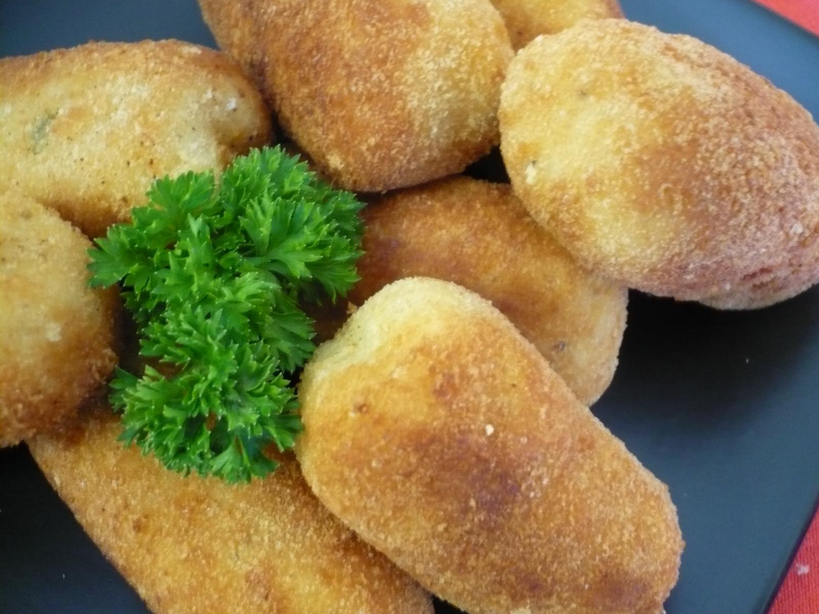 Smažené bramborové krokety