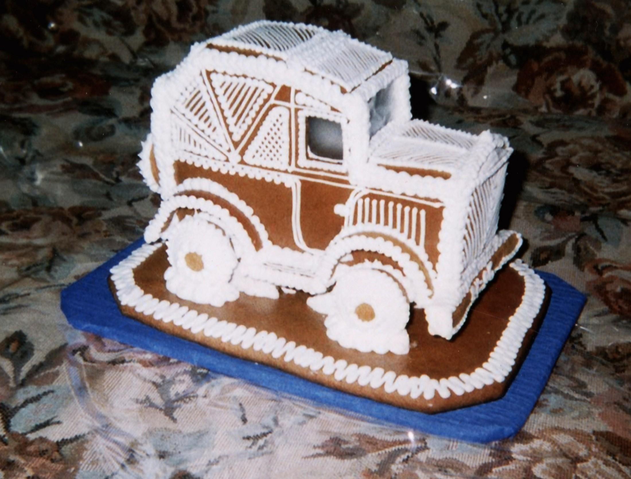 Perníkové auto