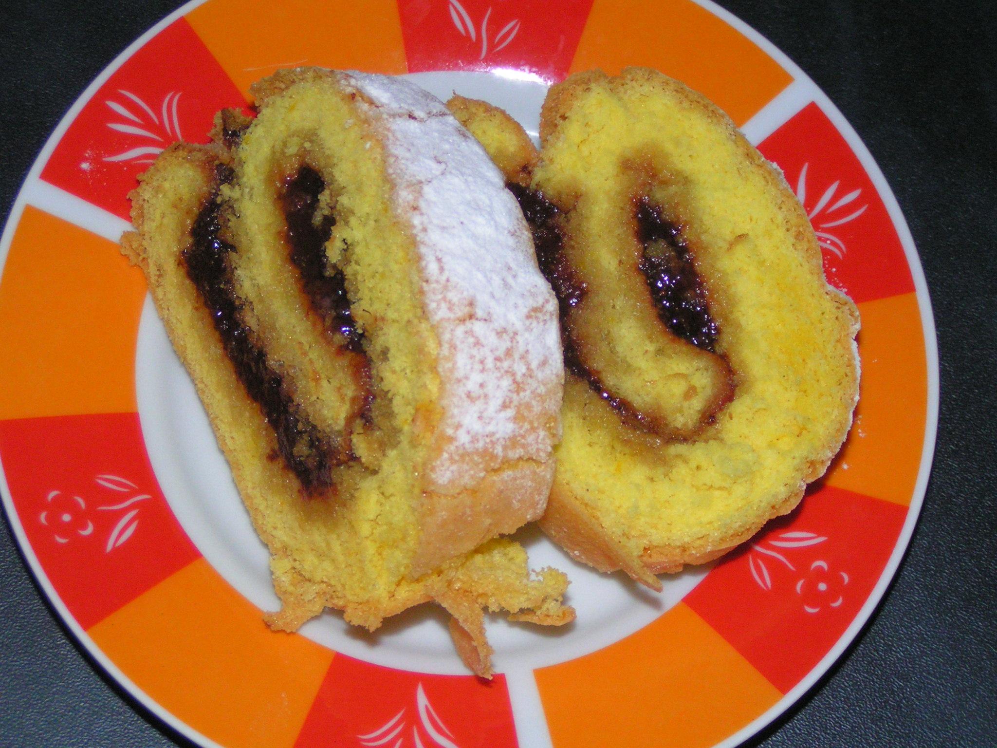 Fotografie receptu: Roláda s marmeládou
