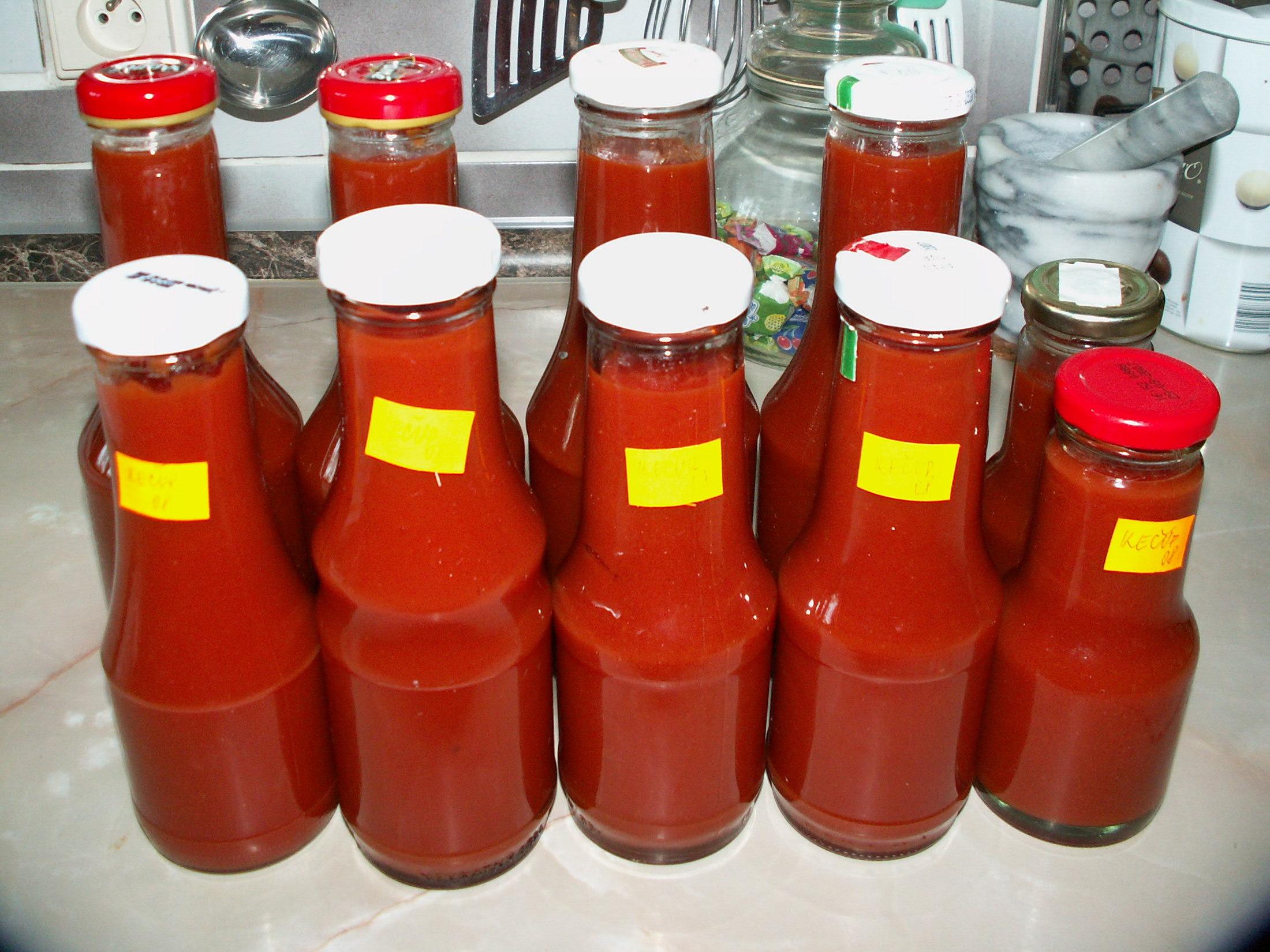 Domácí kečup 2 -