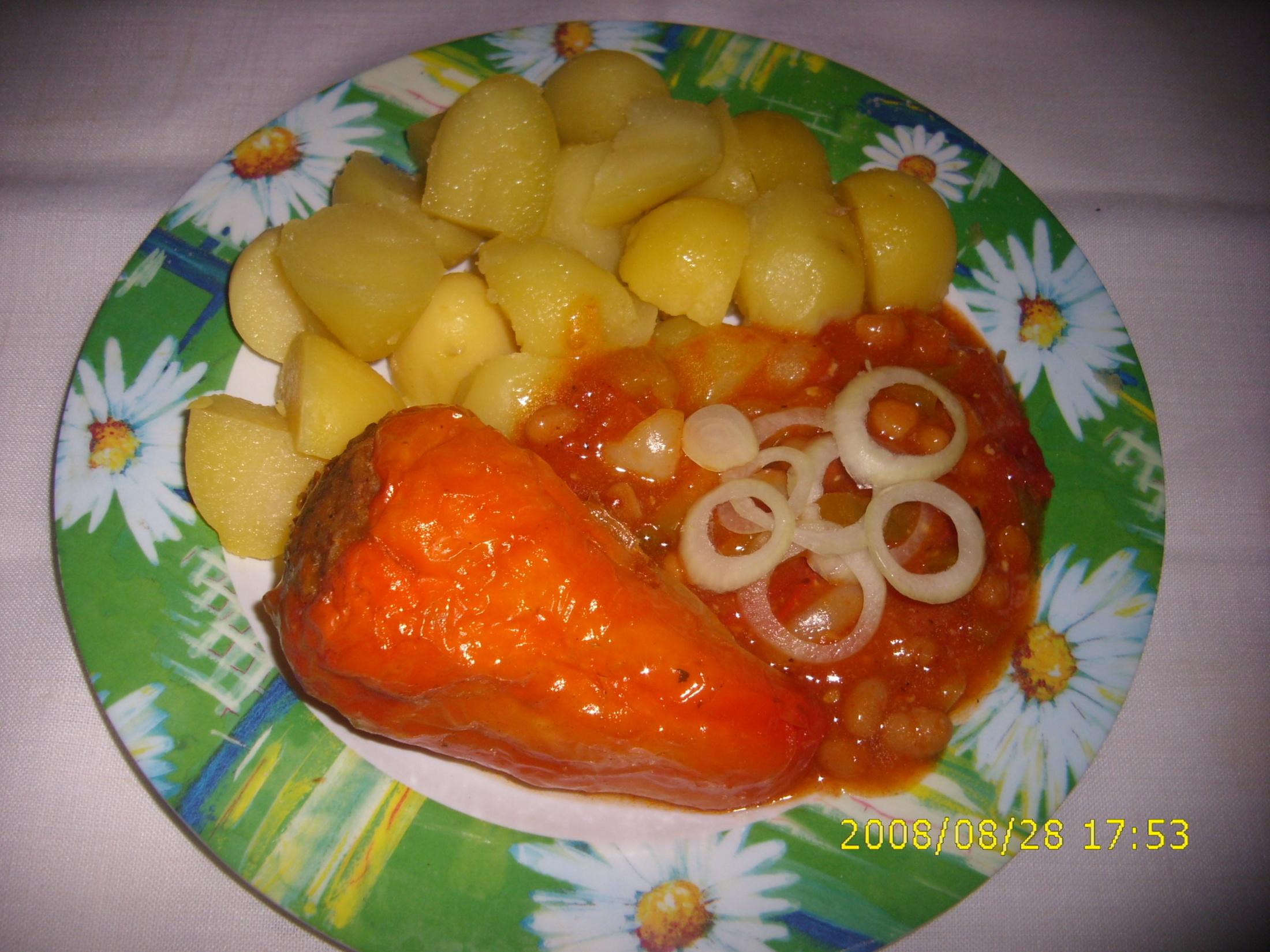 Královské plněné papriky