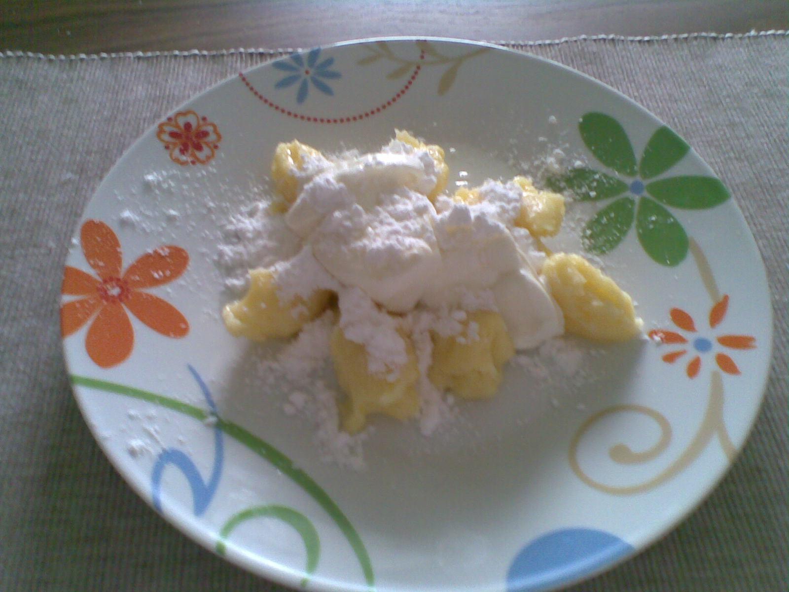 Fotografie receptu: Rychlé bramborové škubánky