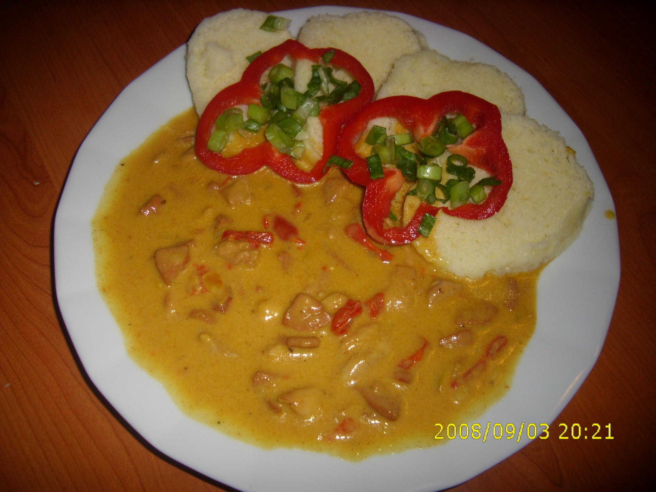 Kuřecí maso s paprikou
