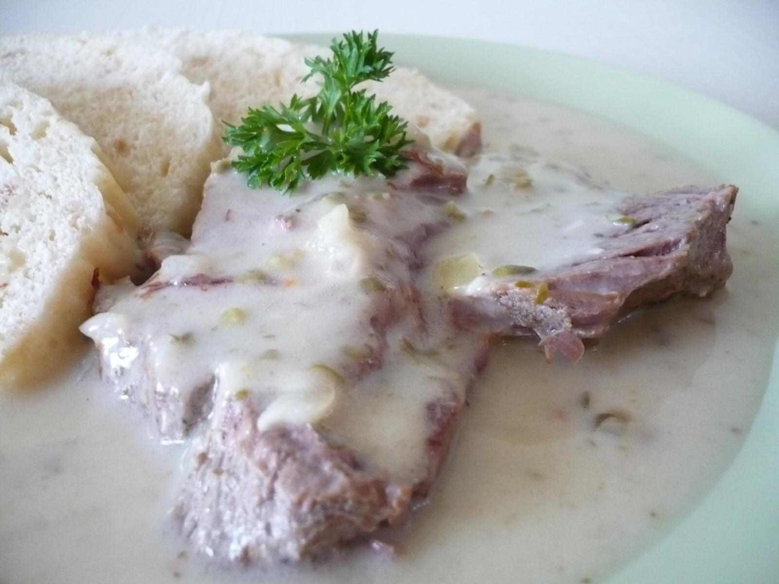 Hovězí maso na sardeli