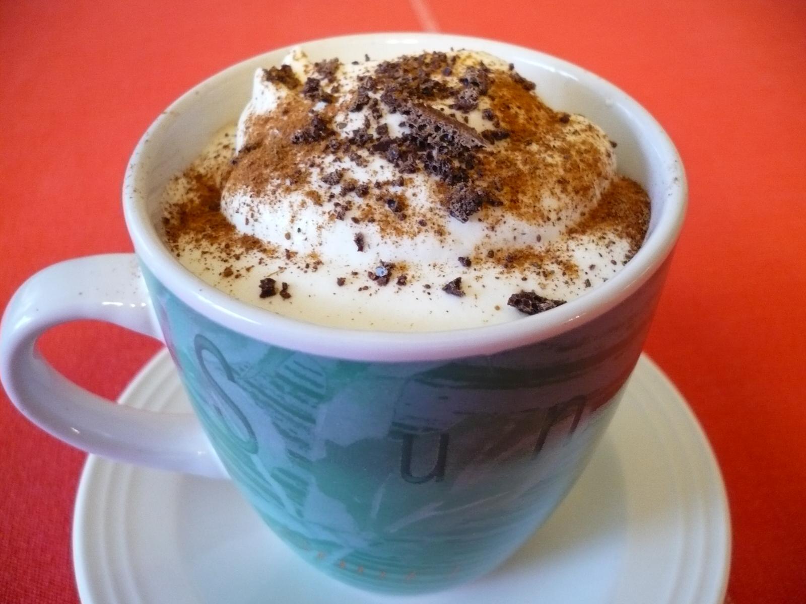 Fotografie receptu: Horká smetanová čokoláda