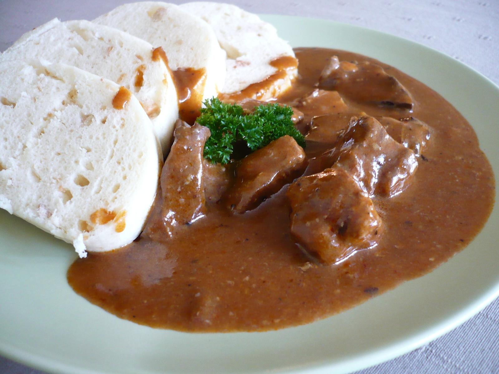 Fotografie receptu: Ostrý vepřový guláš