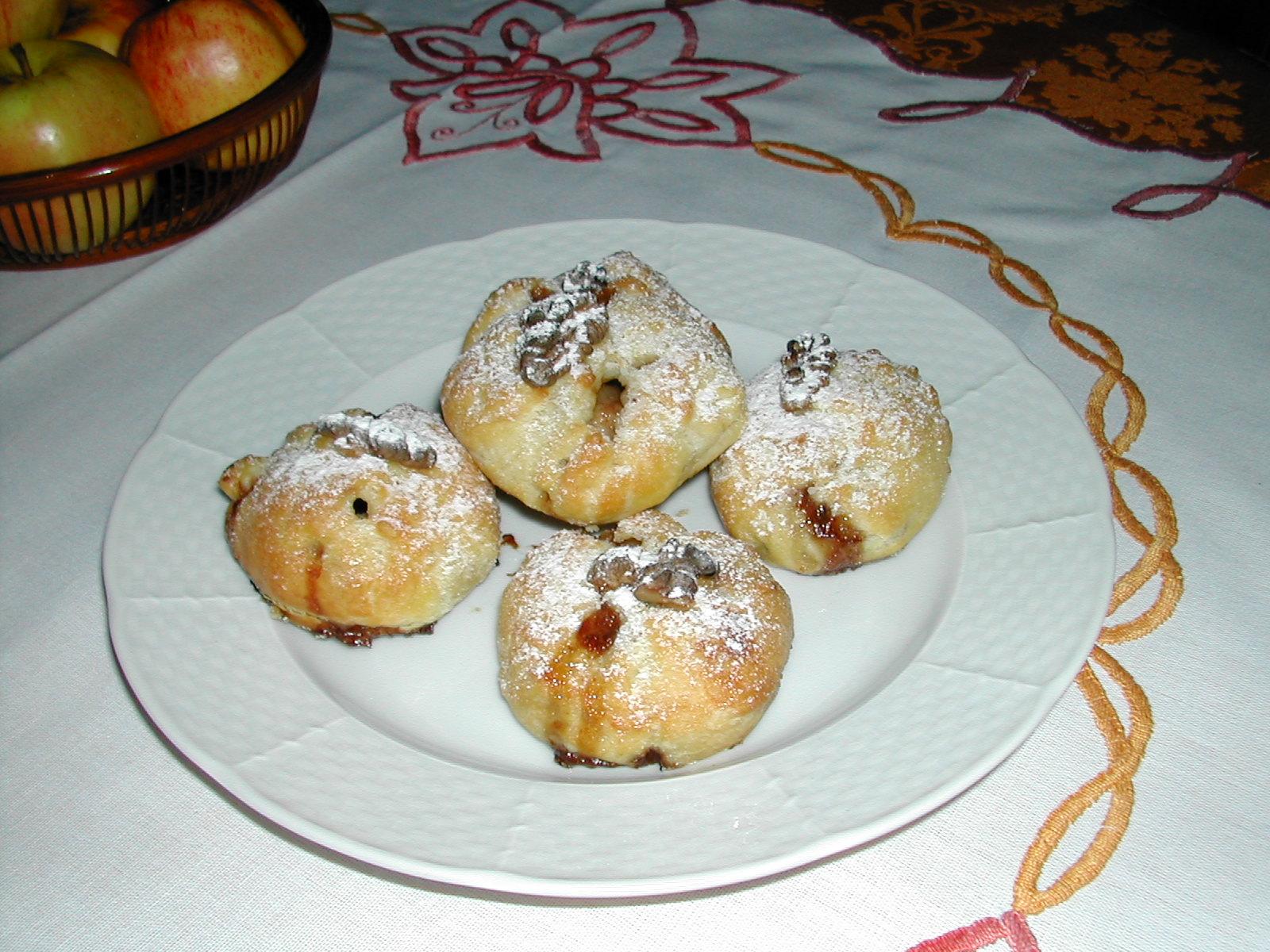 Jablečné uzlíky