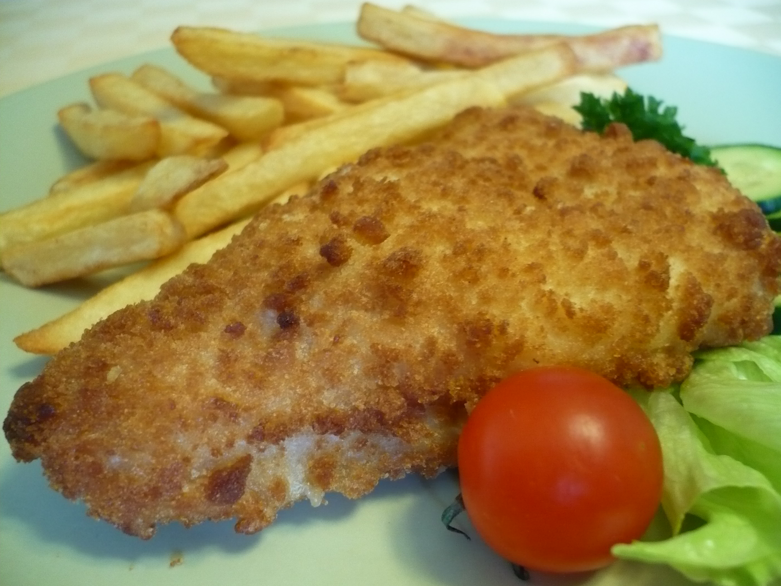 Fotografie receptu: Smažený losos s česnekem