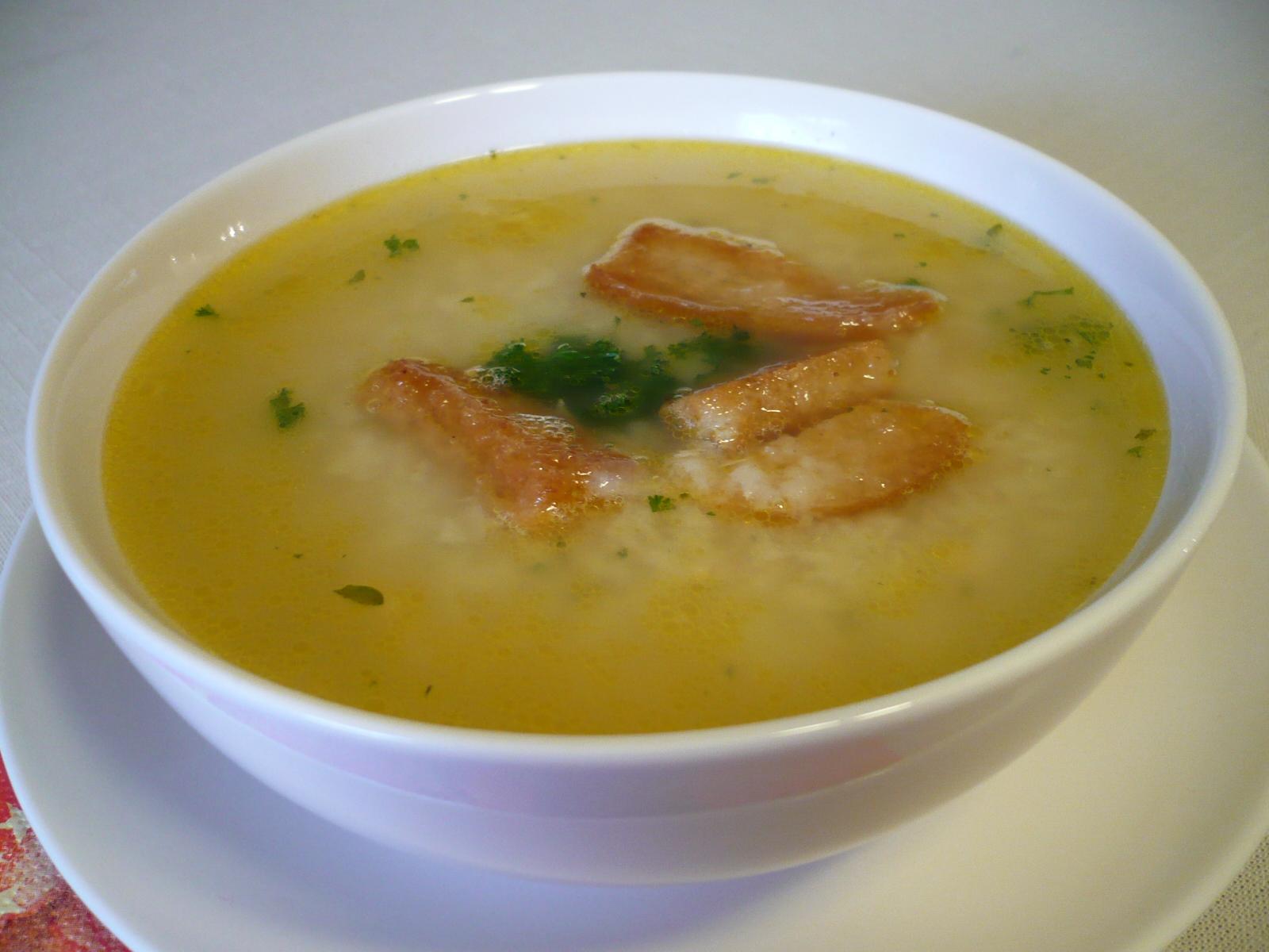 Česká rybí polévka