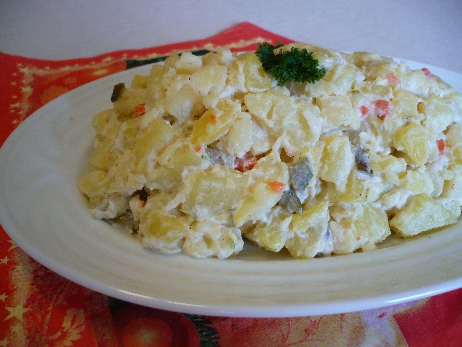 Fotografie receptu: Lehký vánoční bramborový salát