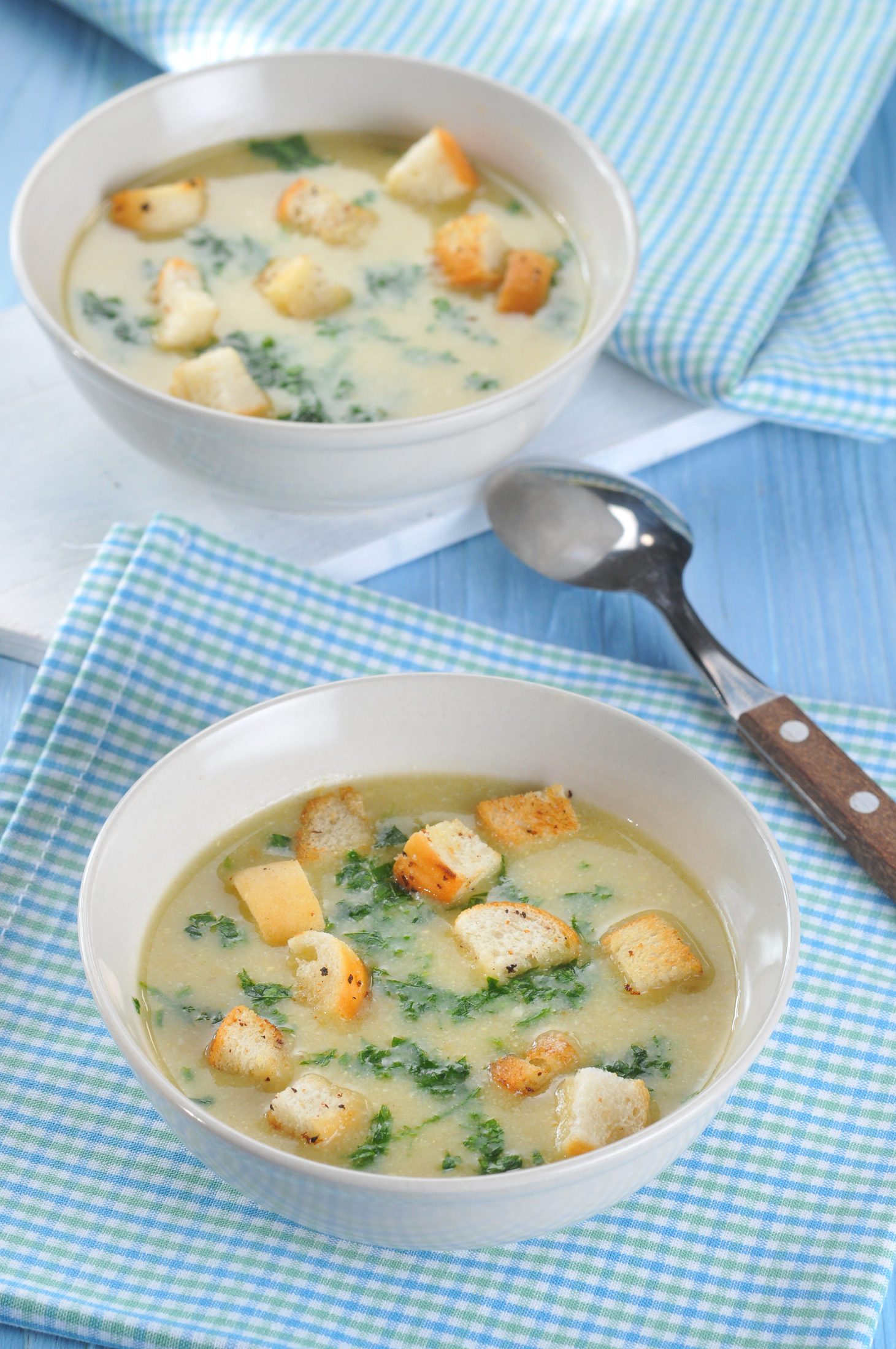 Babiččina květáková polévka