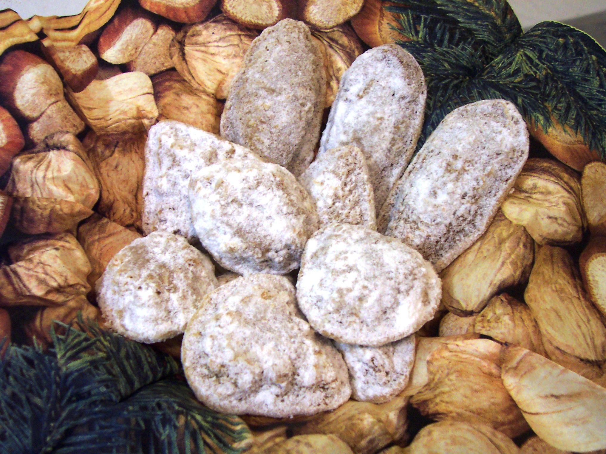 Ořechové tlapky