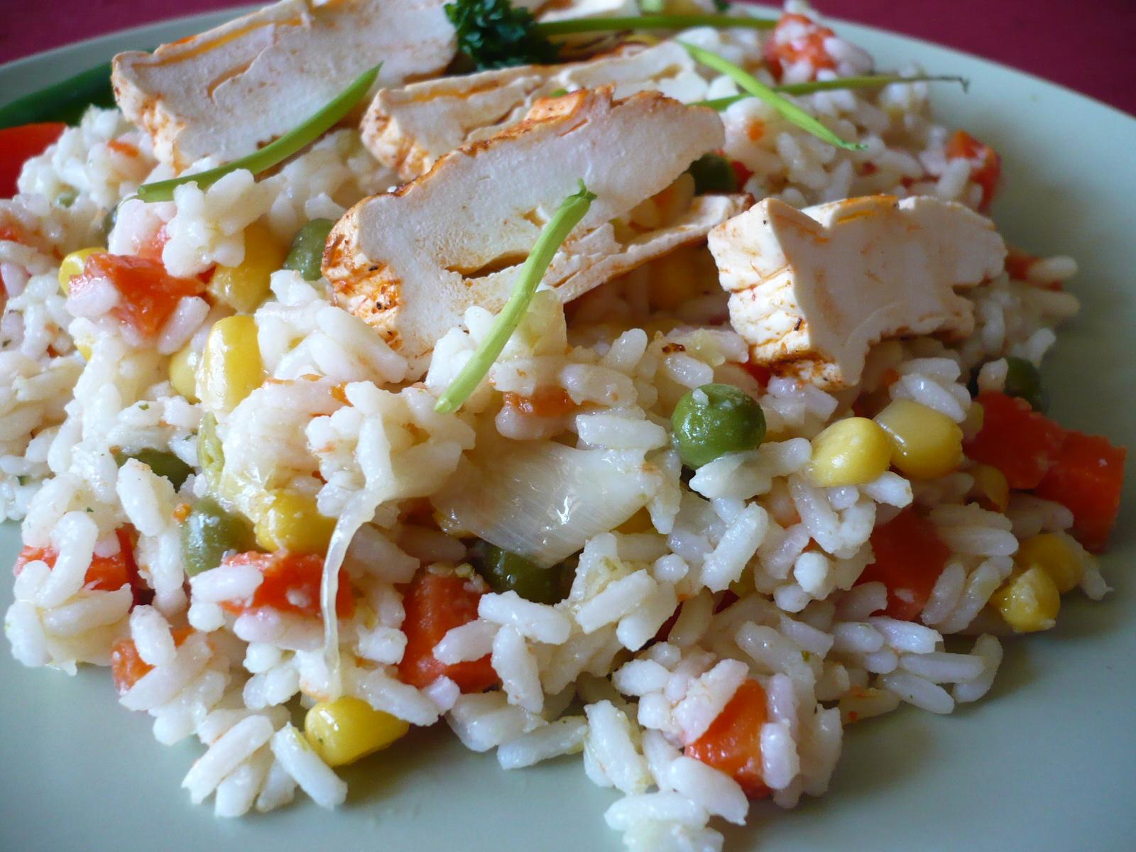 Zeleninové rizoto se šmakounem