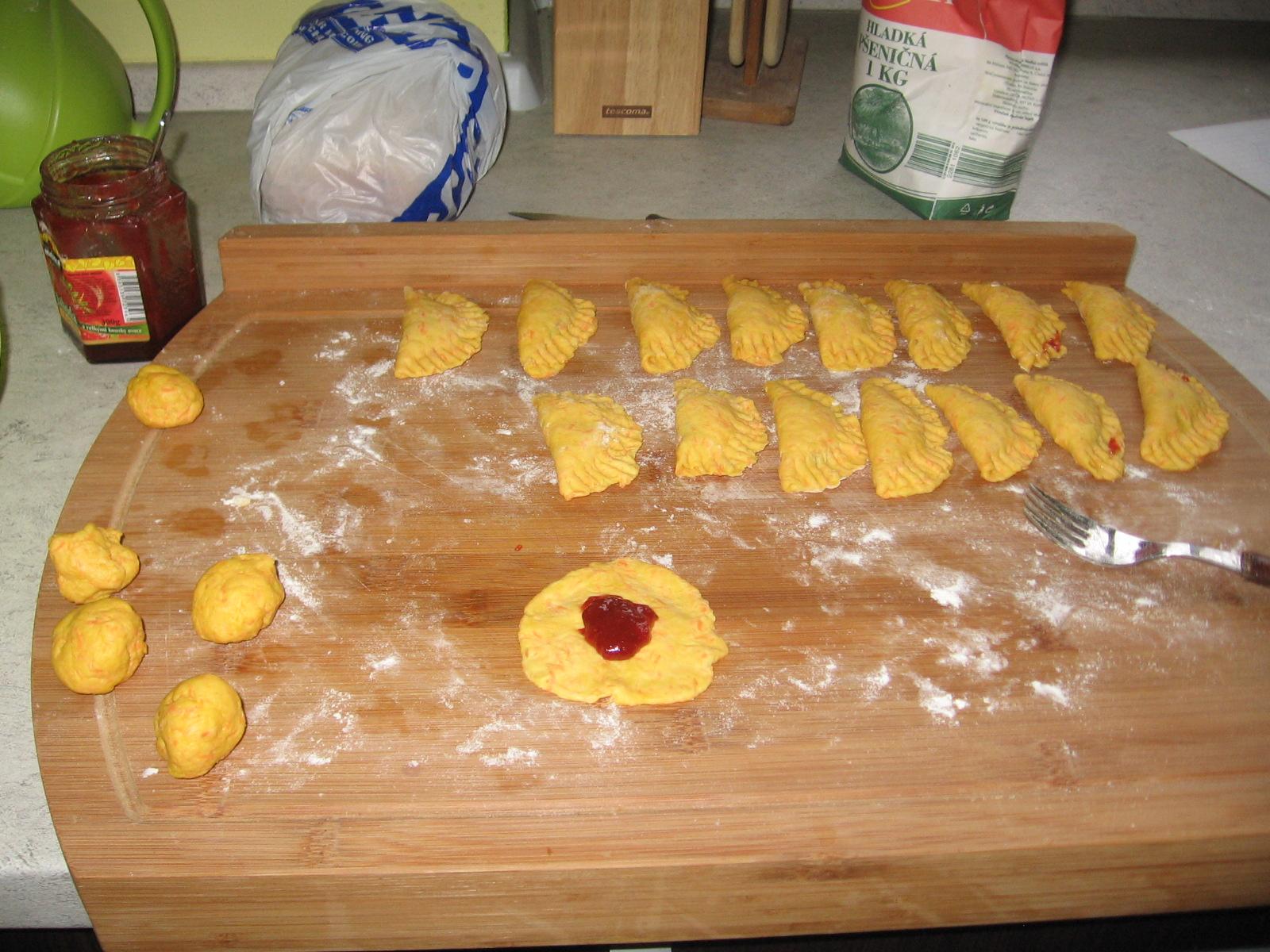 Fotografie receptu: Mrkvové šátečky