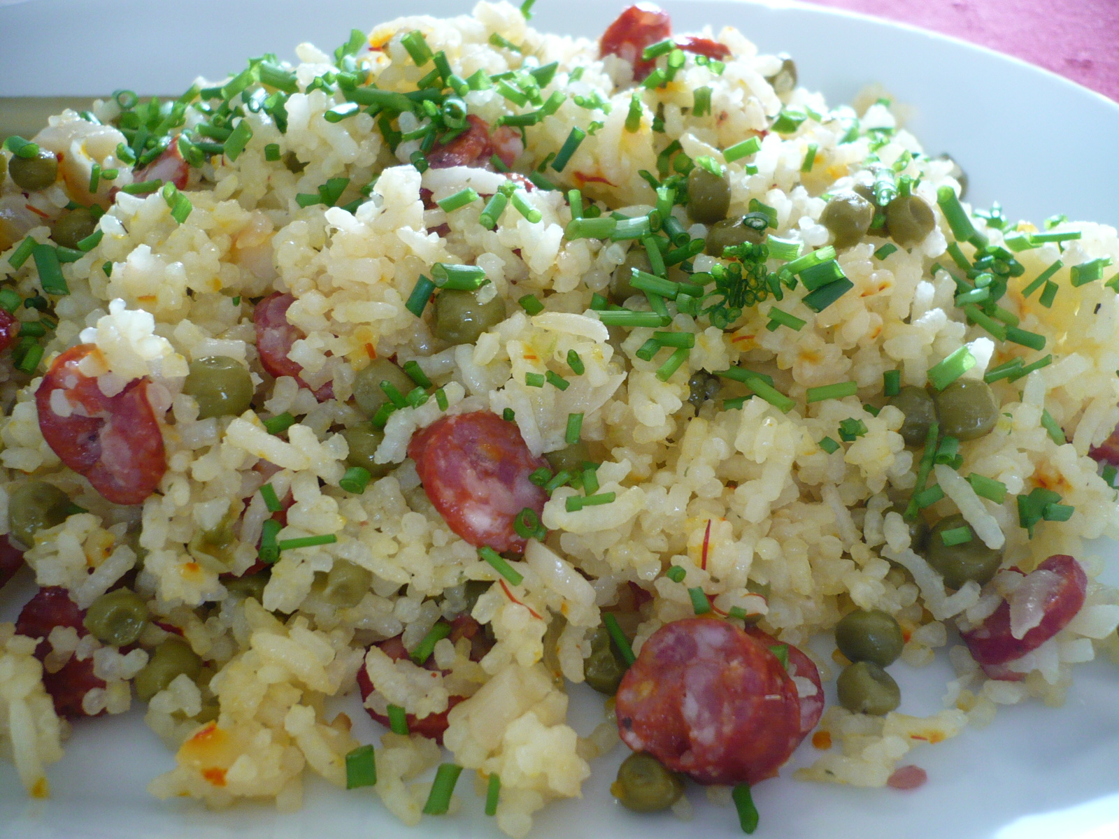 Fotografie receptu: Šafránové rizoto