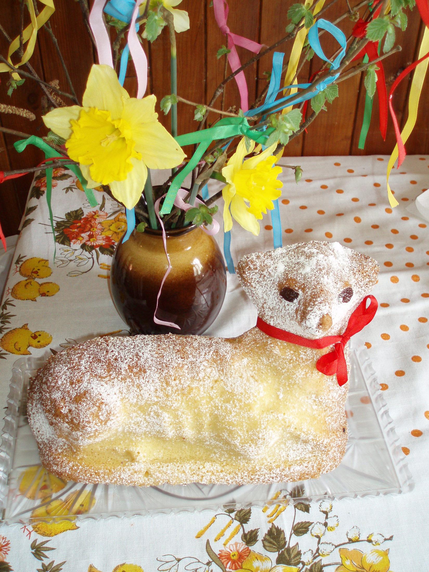 Velikonoční beran -