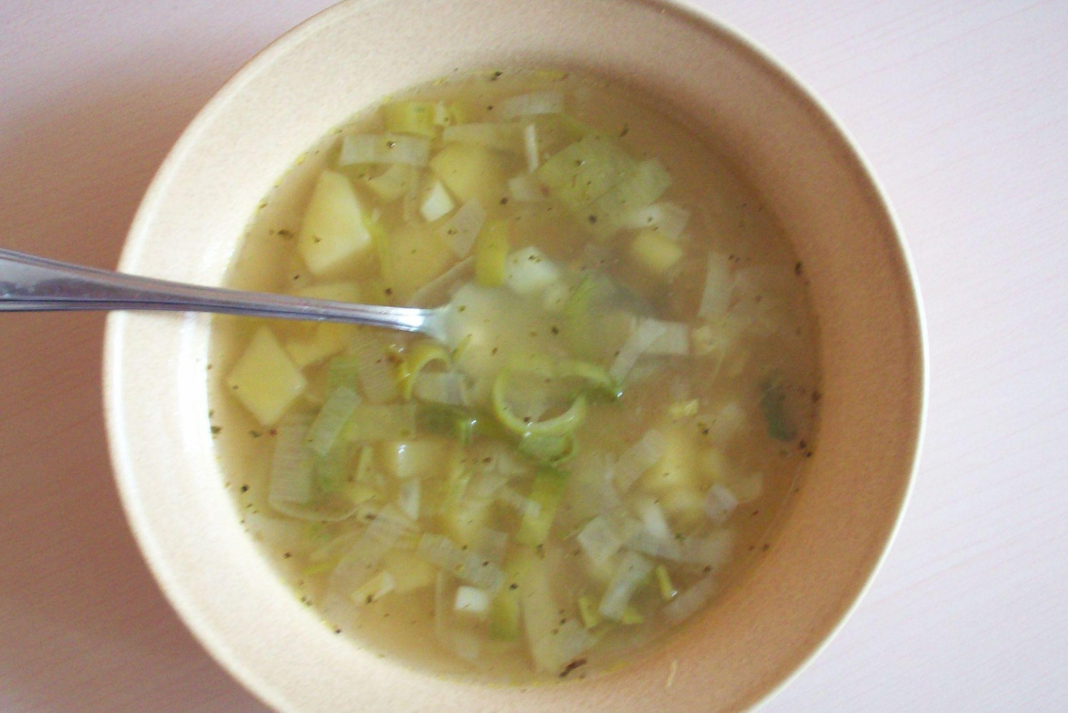 Fotografie receptu: Klasická pórková polévka