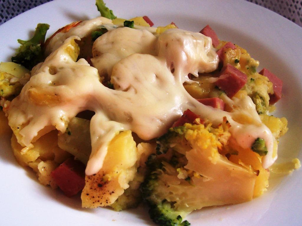 Brokolice s brambory