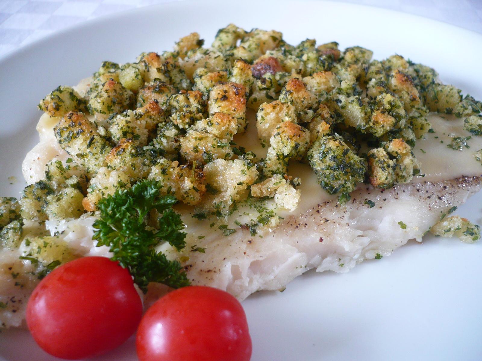 Jemné rybí filety s bylinkami
