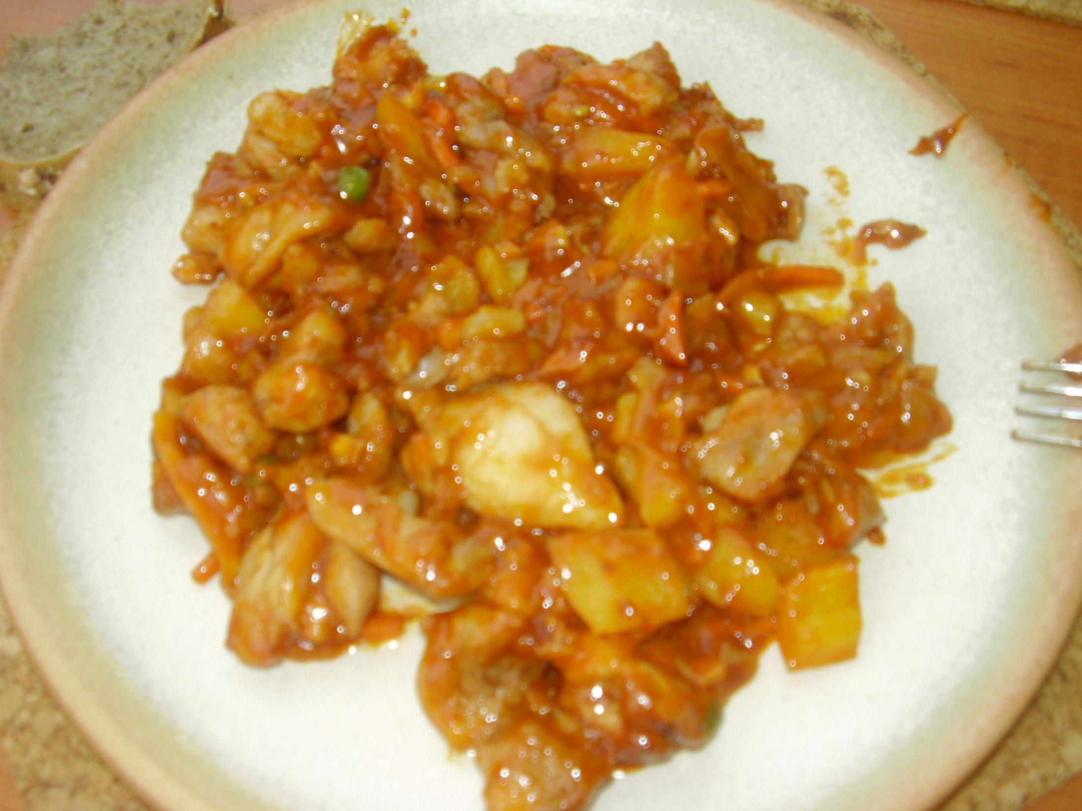 Fotografie receptu: Marinovaná čína s ořechy