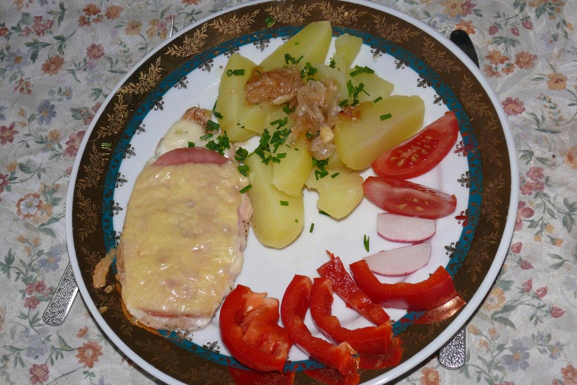 Kuřecí maso zapékané s tatarkou