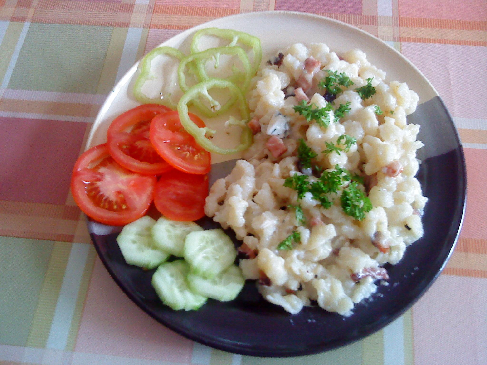 Fotografie receptu: Halušky se sýrem