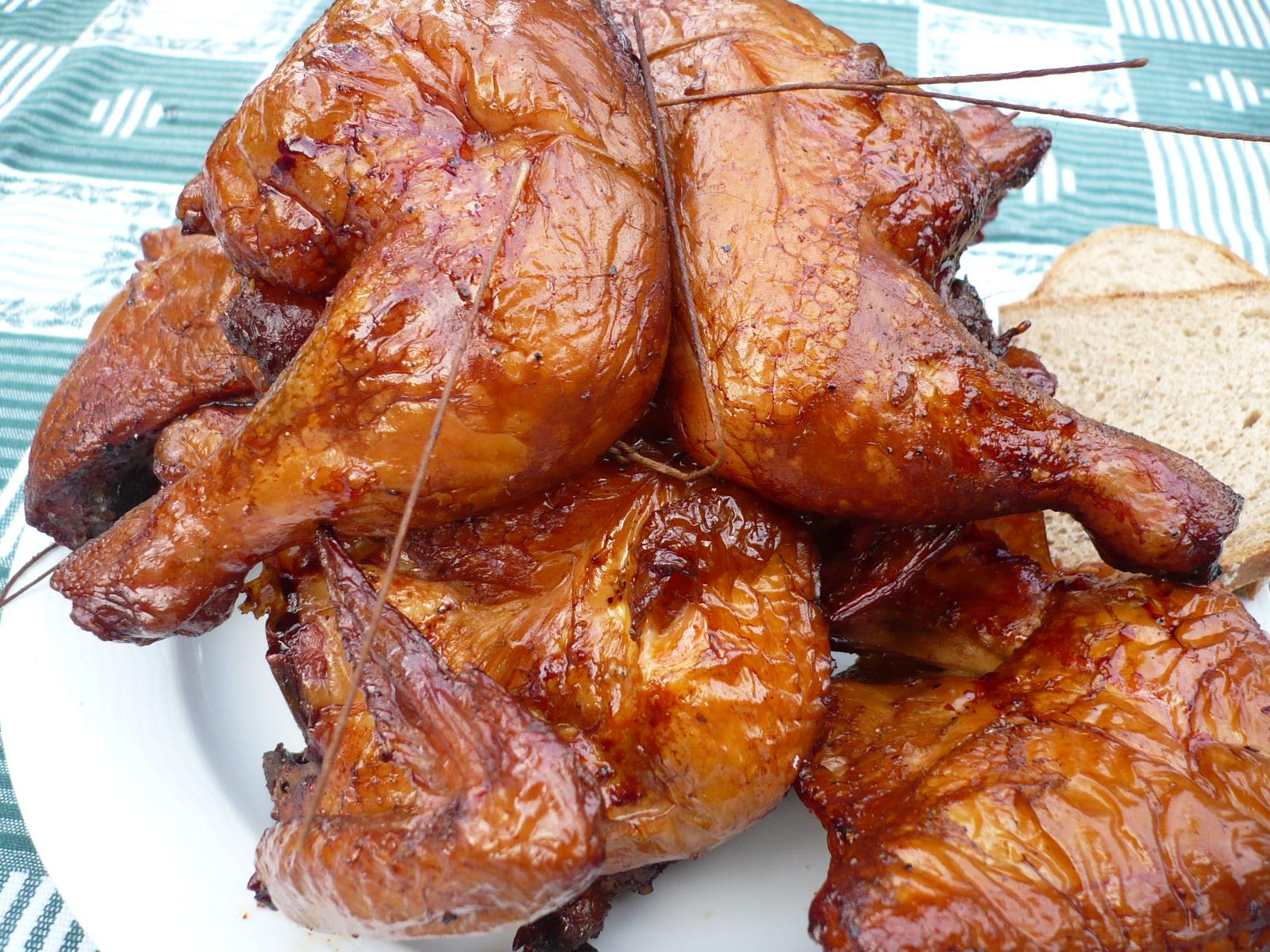 Fotografie receptu: Uzená kuřata
