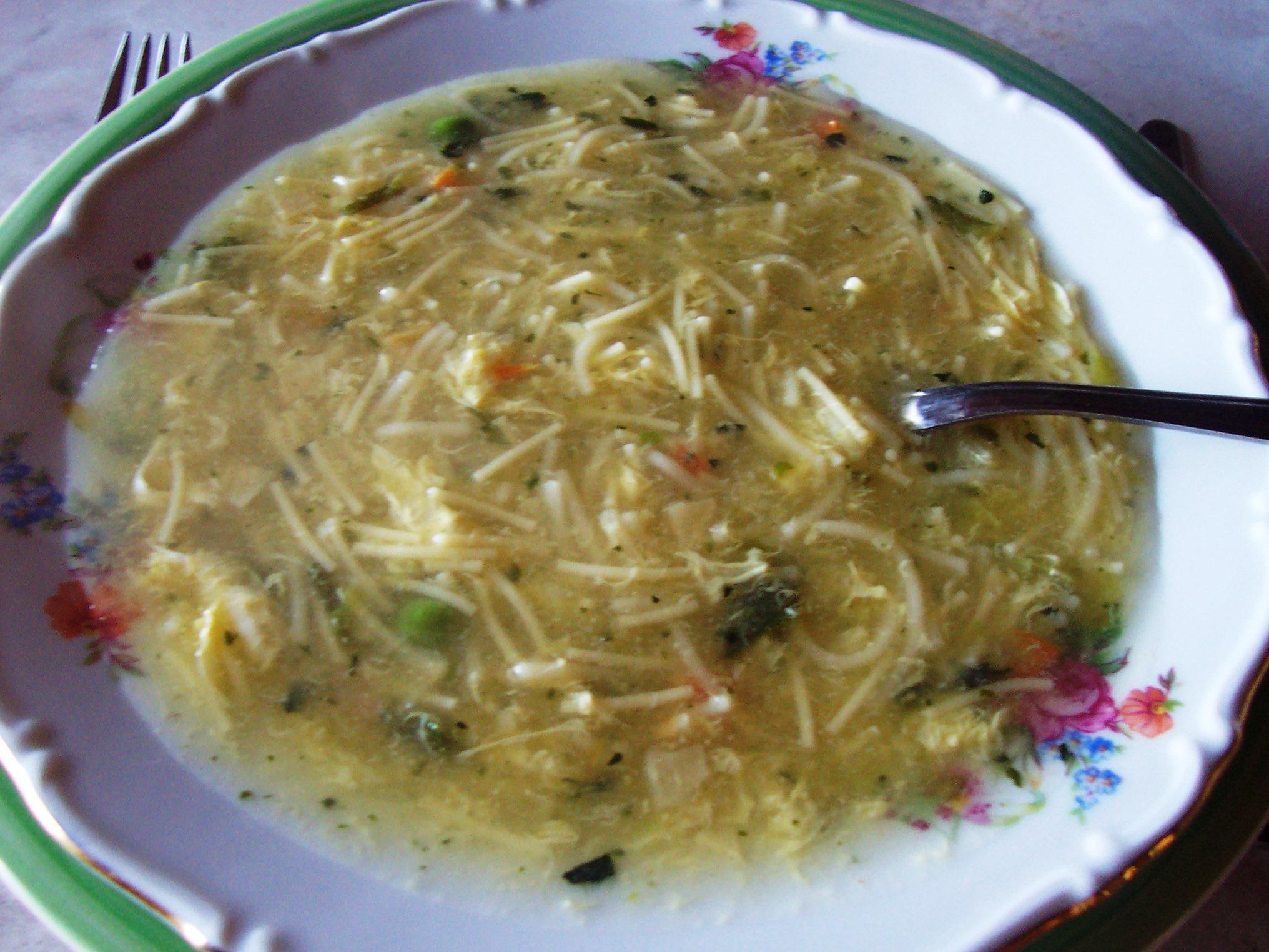Fotografie receptu: Hrstková zeleninová polévka