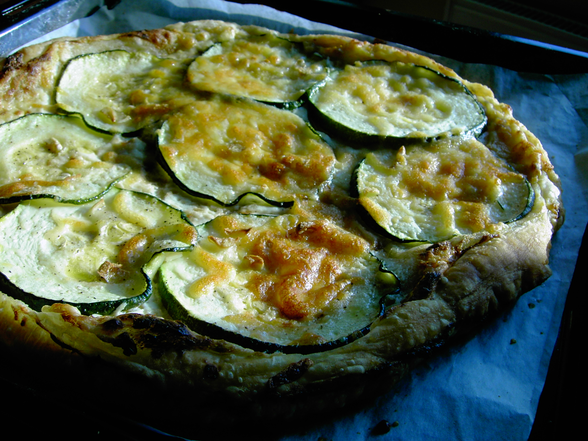 Fotografie receptu: Cuketový koláč z listového těsta