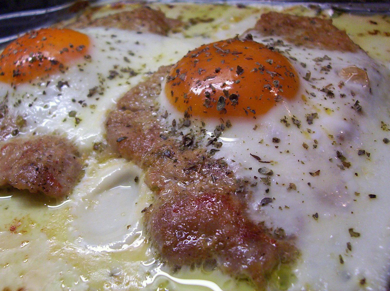Fotografie receptu: Vepřová kýta pod vejcem