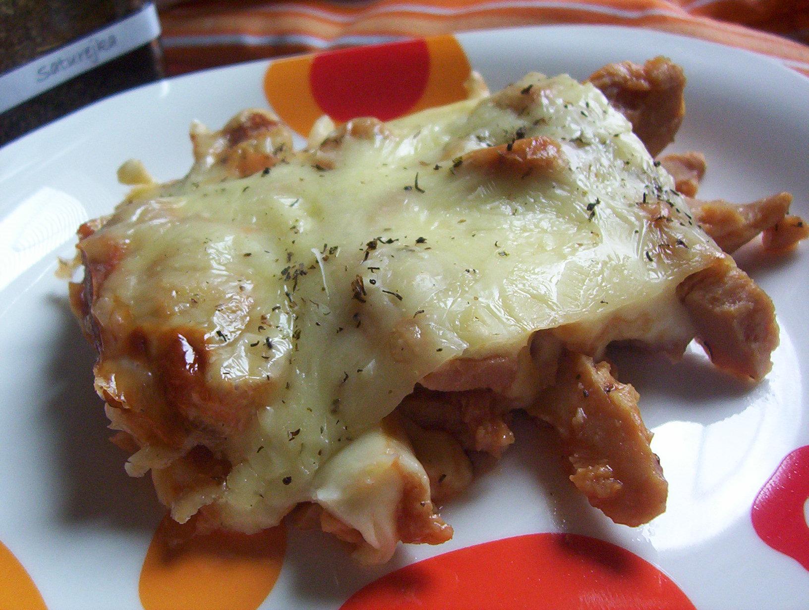 Fotografie receptu: Zapékané sójové nudličky