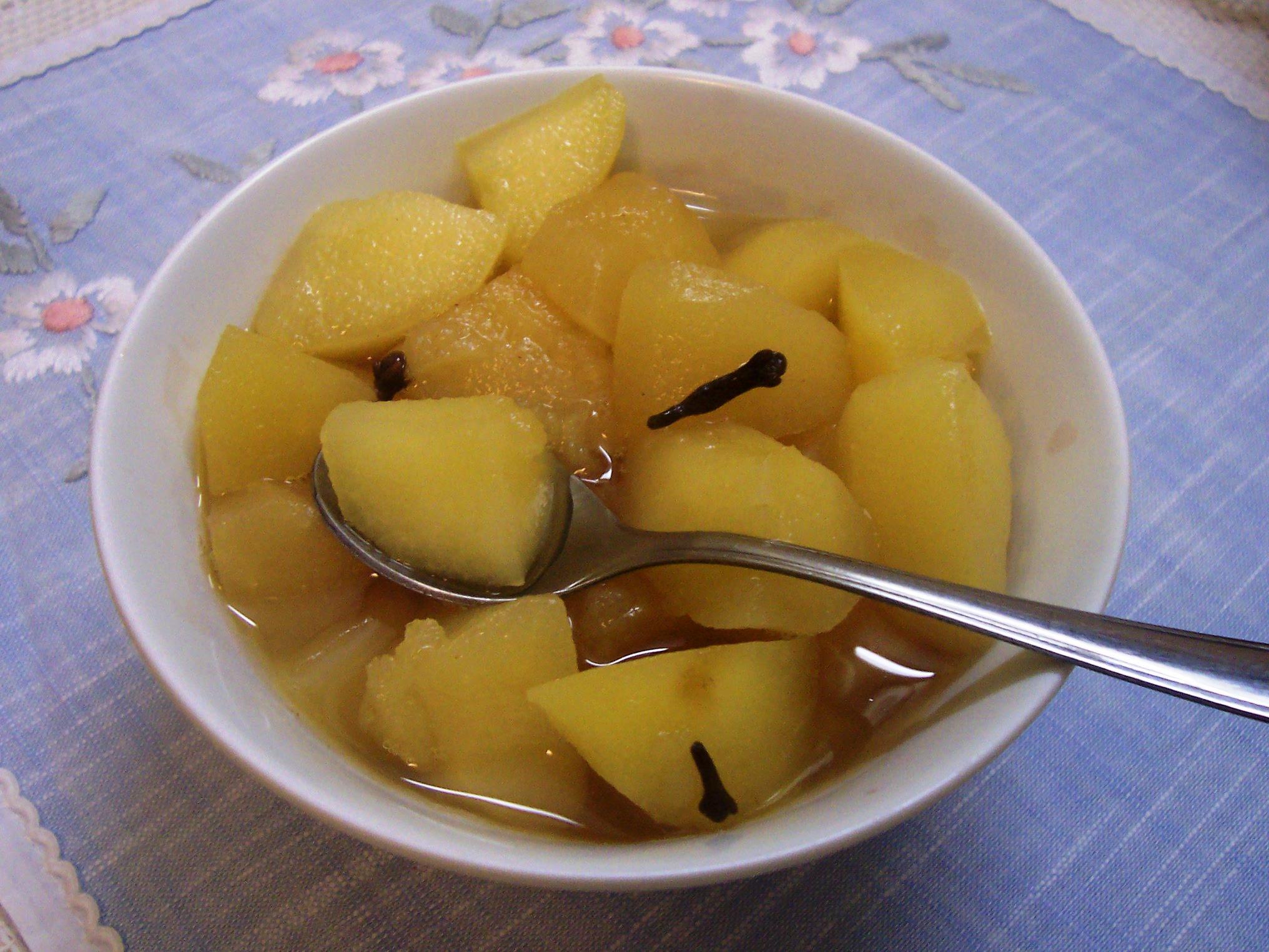 Fotografie receptu: Medová jablíčka