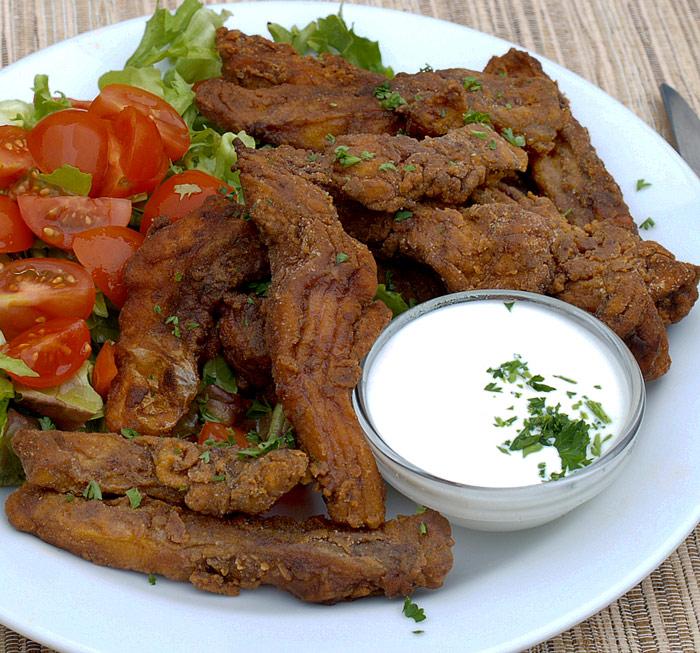 Fotografie receptu: Třeboňské kapří hranolky