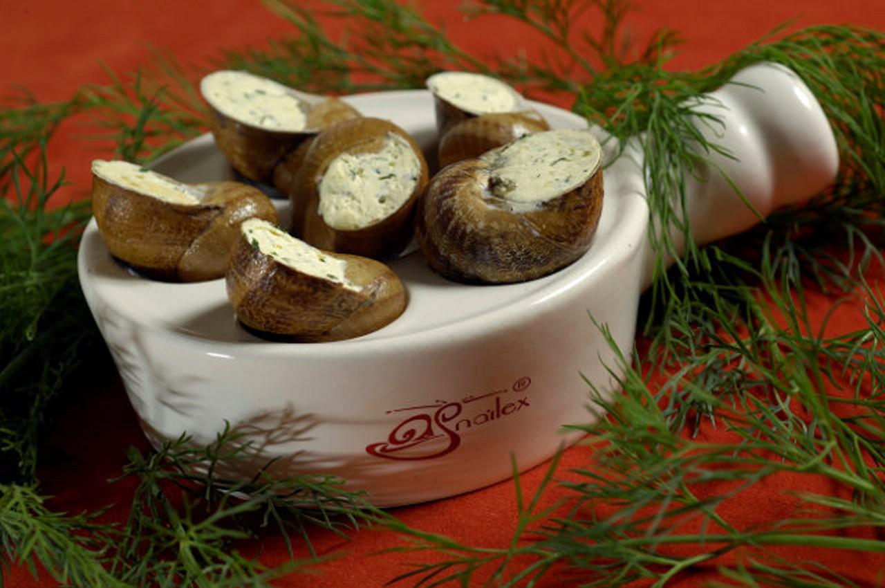 Vánoční šneci pro gurmány