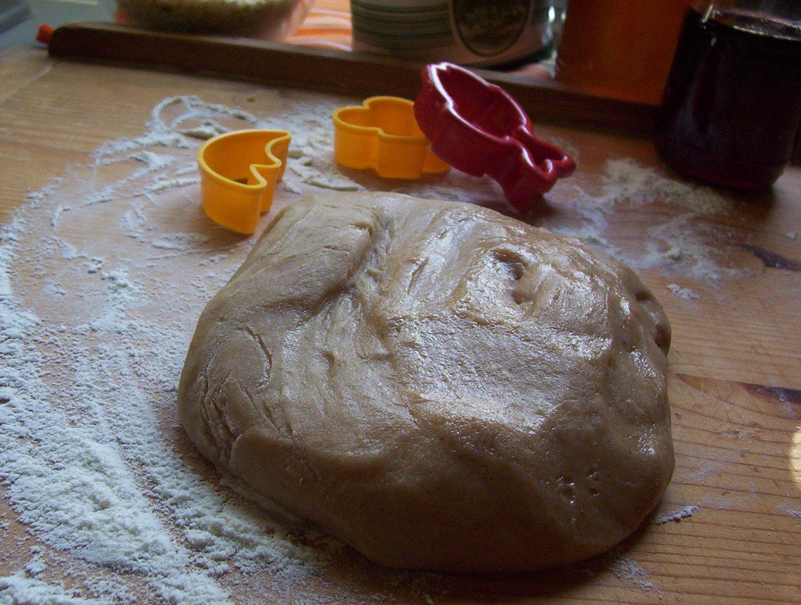 Fotografie receptu: Základní perníkové těsto