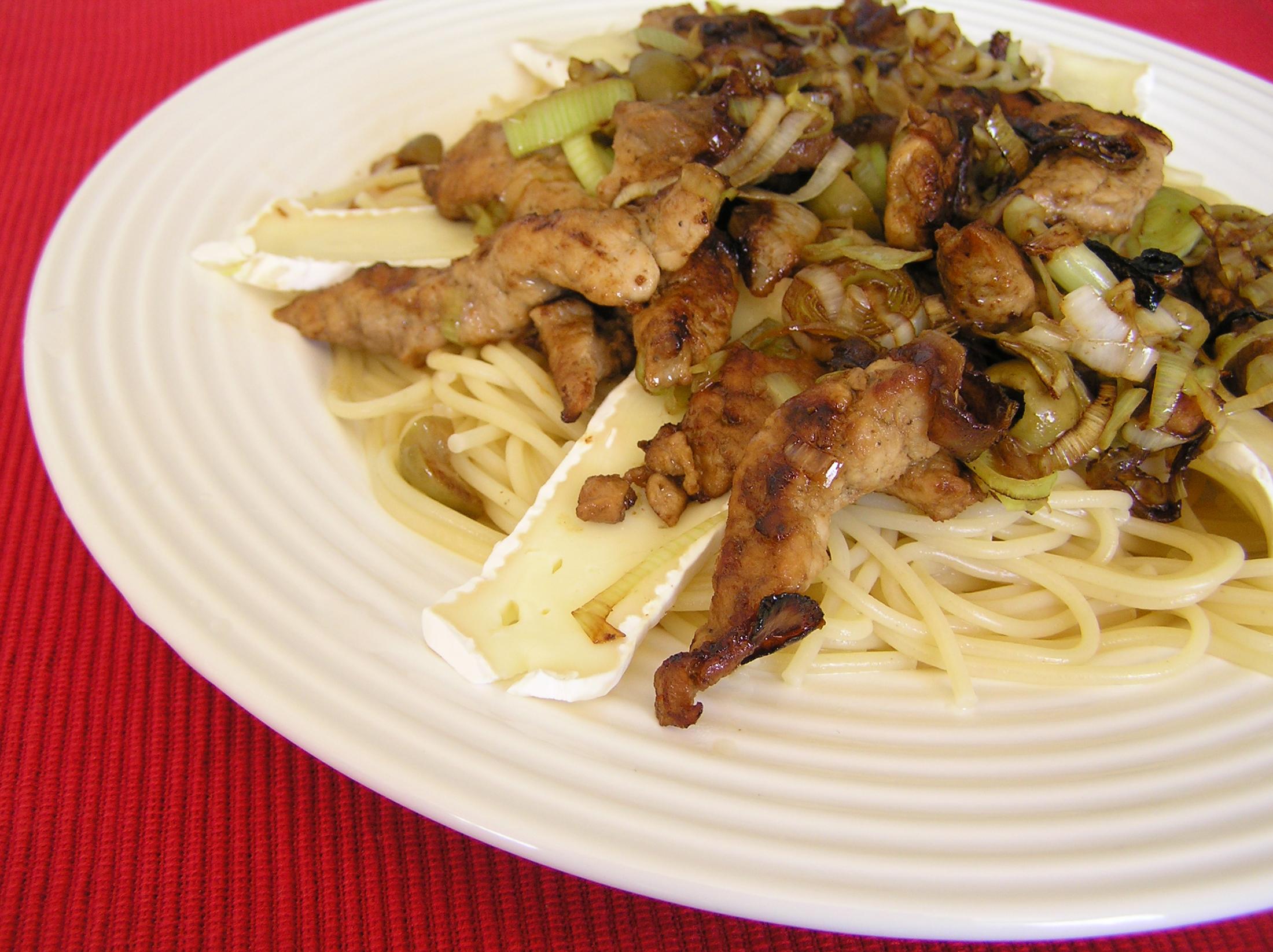 Fotografie receptu: Kuře na zázvoru
