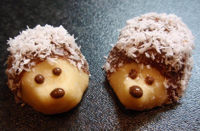 Fotografie receptu: Vánoční ježci