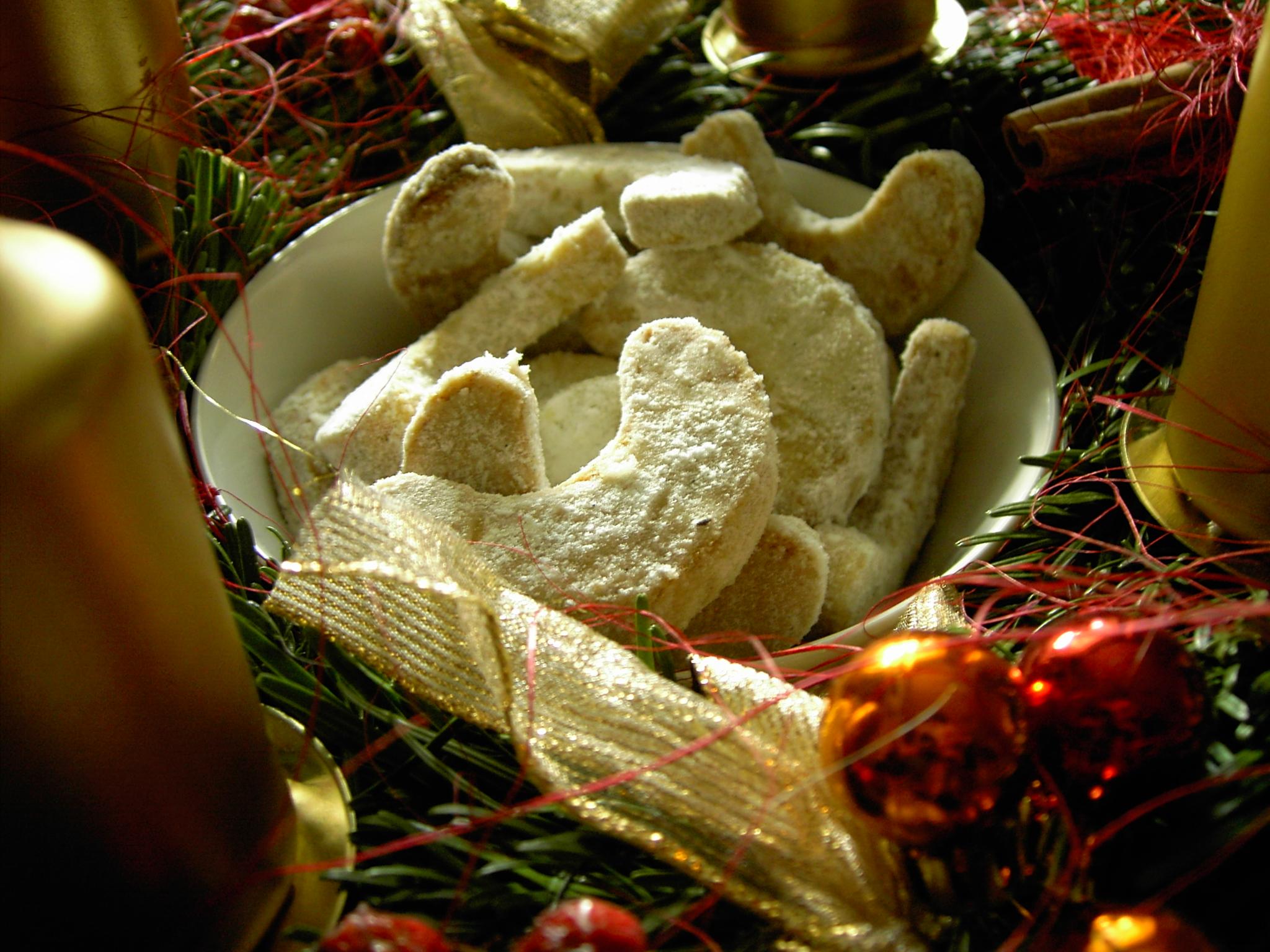 Ořechové rohlíčky s vůní vanilky
