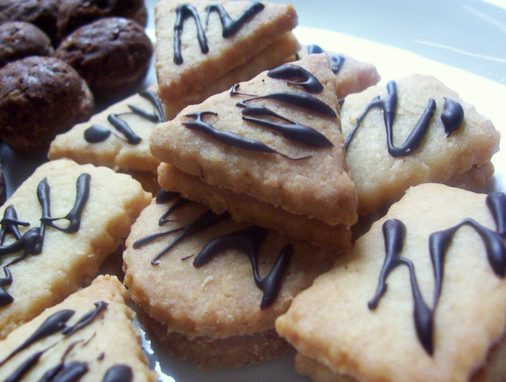 Kokosové plněné keksy