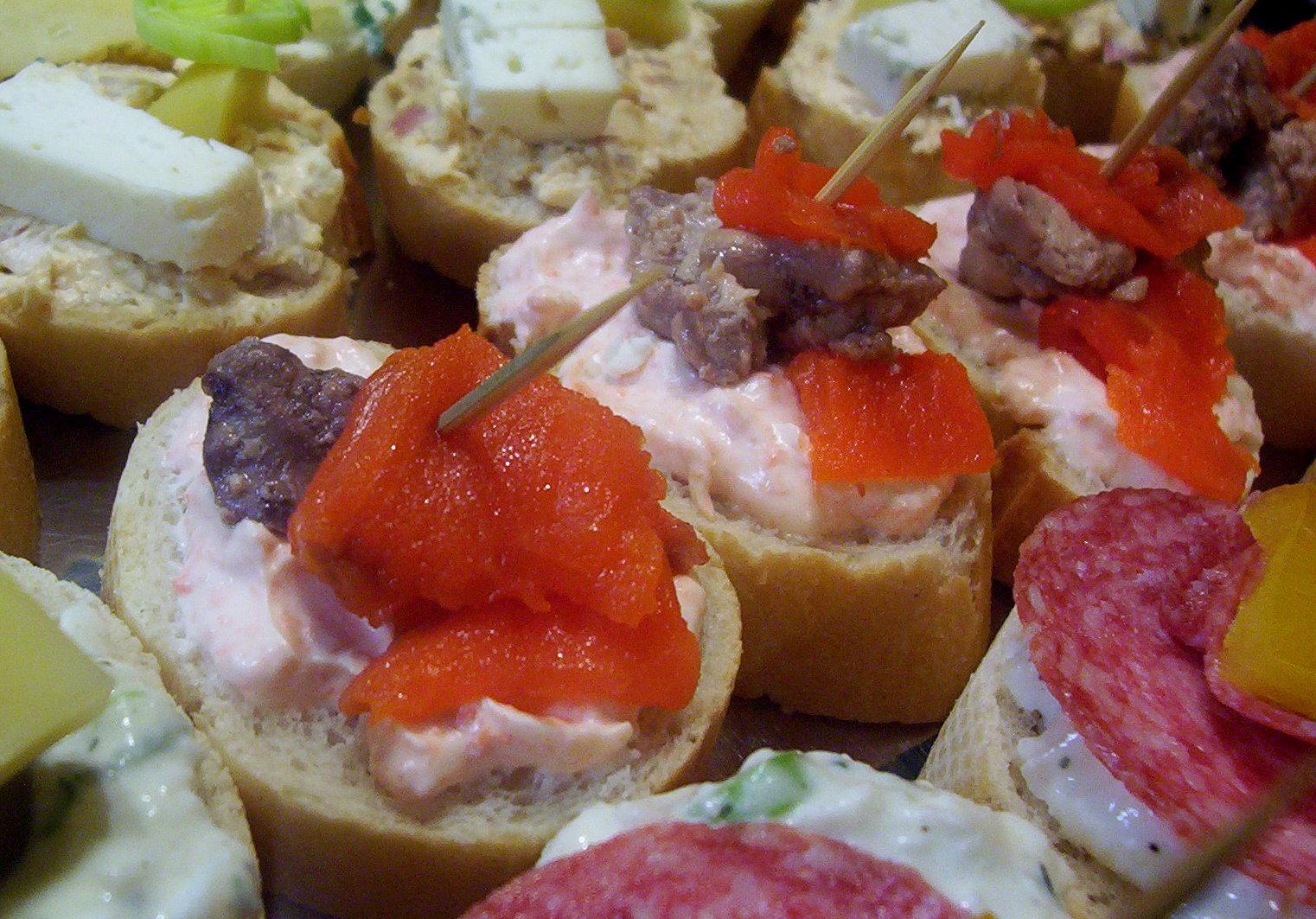 Fotografie receptu: Rybí jednohubky