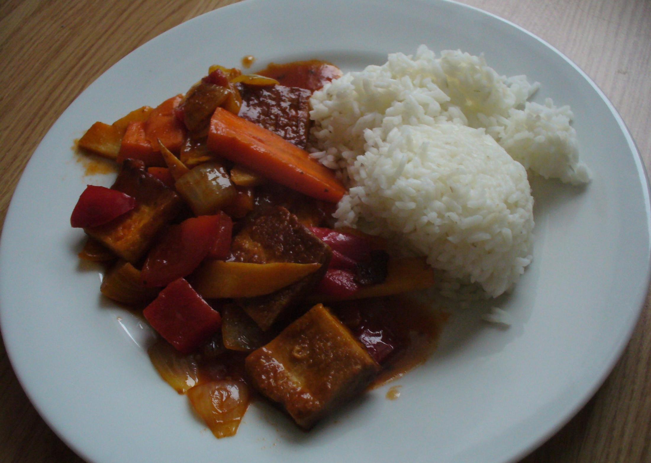 Fotografie receptu: Tofu se zeleninou