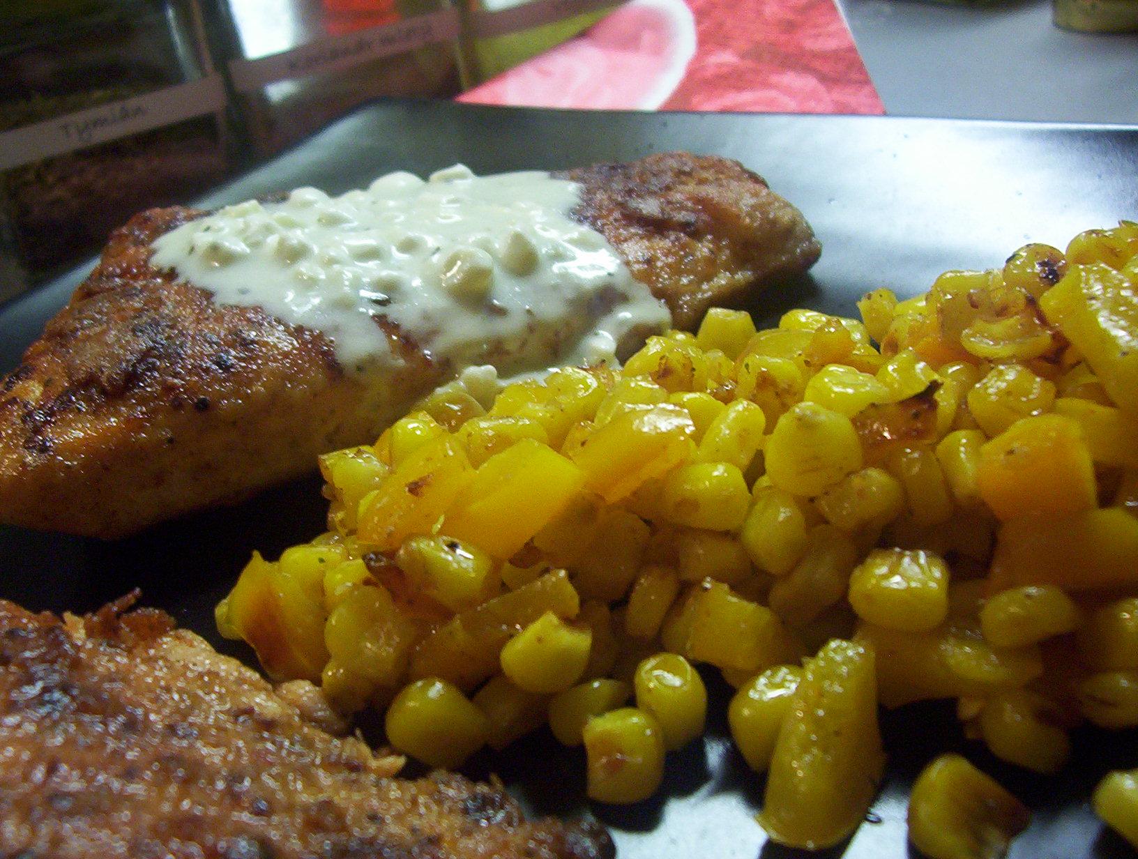 Žlutá zeleninová příloha