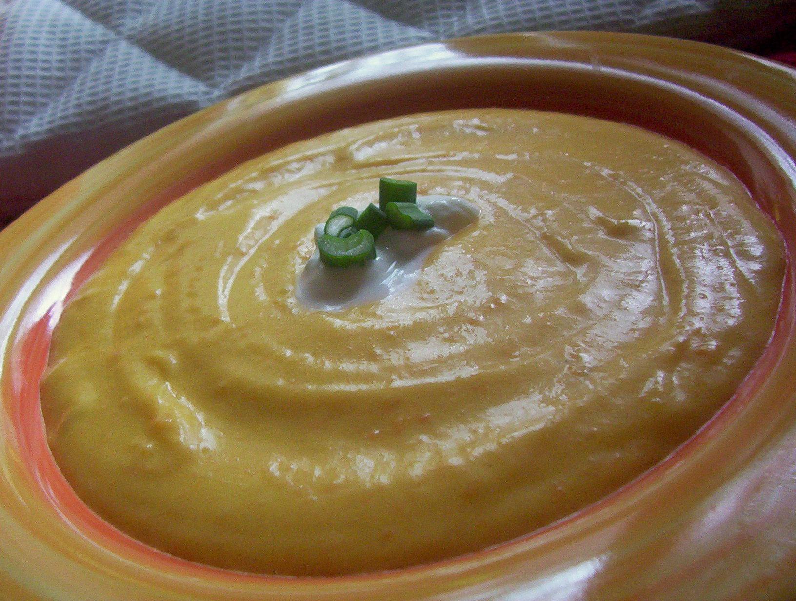 Fotografie receptu: Bramborovo-mrkvové pyré