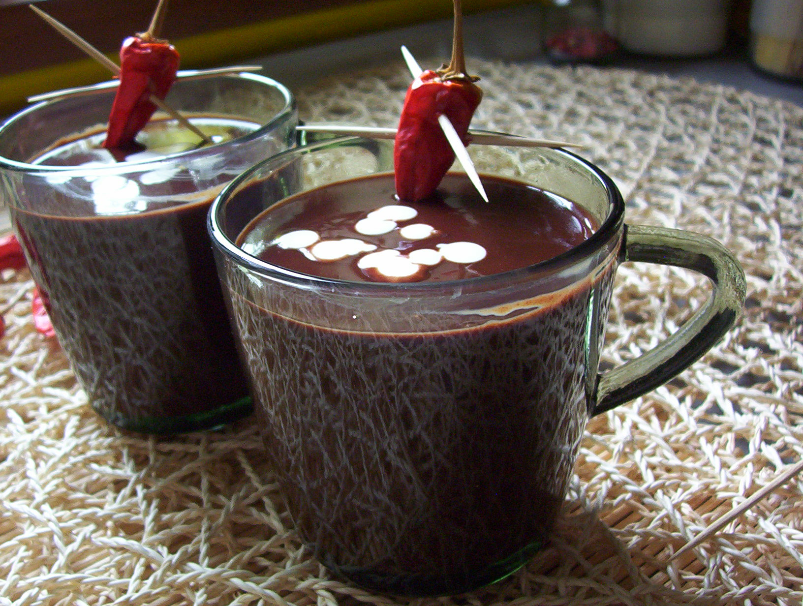 Horká krémová čokoláda